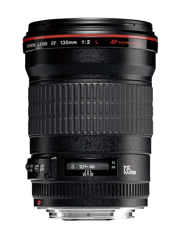 (Amazon IT) Canon EF 135mm/ 2,0/ L USM Objektiv (72 mm Filtergewinde) 814,26€