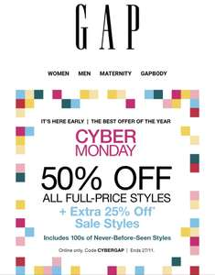 50% Full Price, 25 % Sales