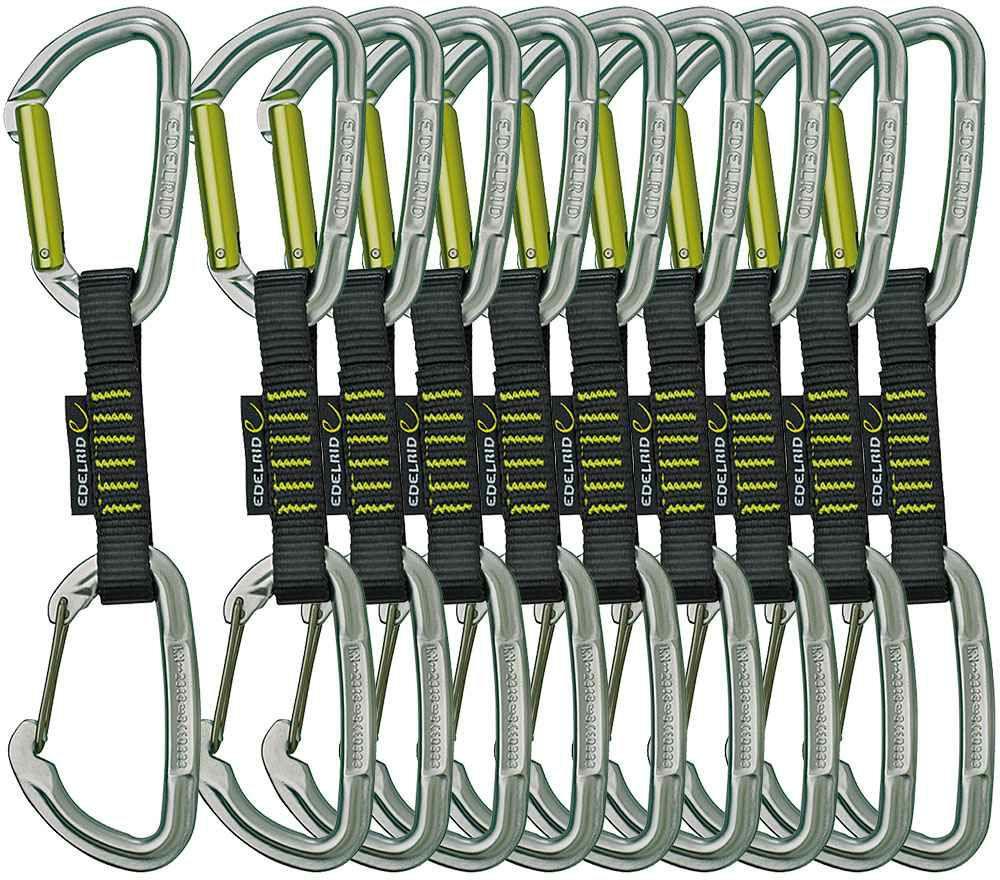 edelrid Slash Wire Expressen Set - 10 Stück