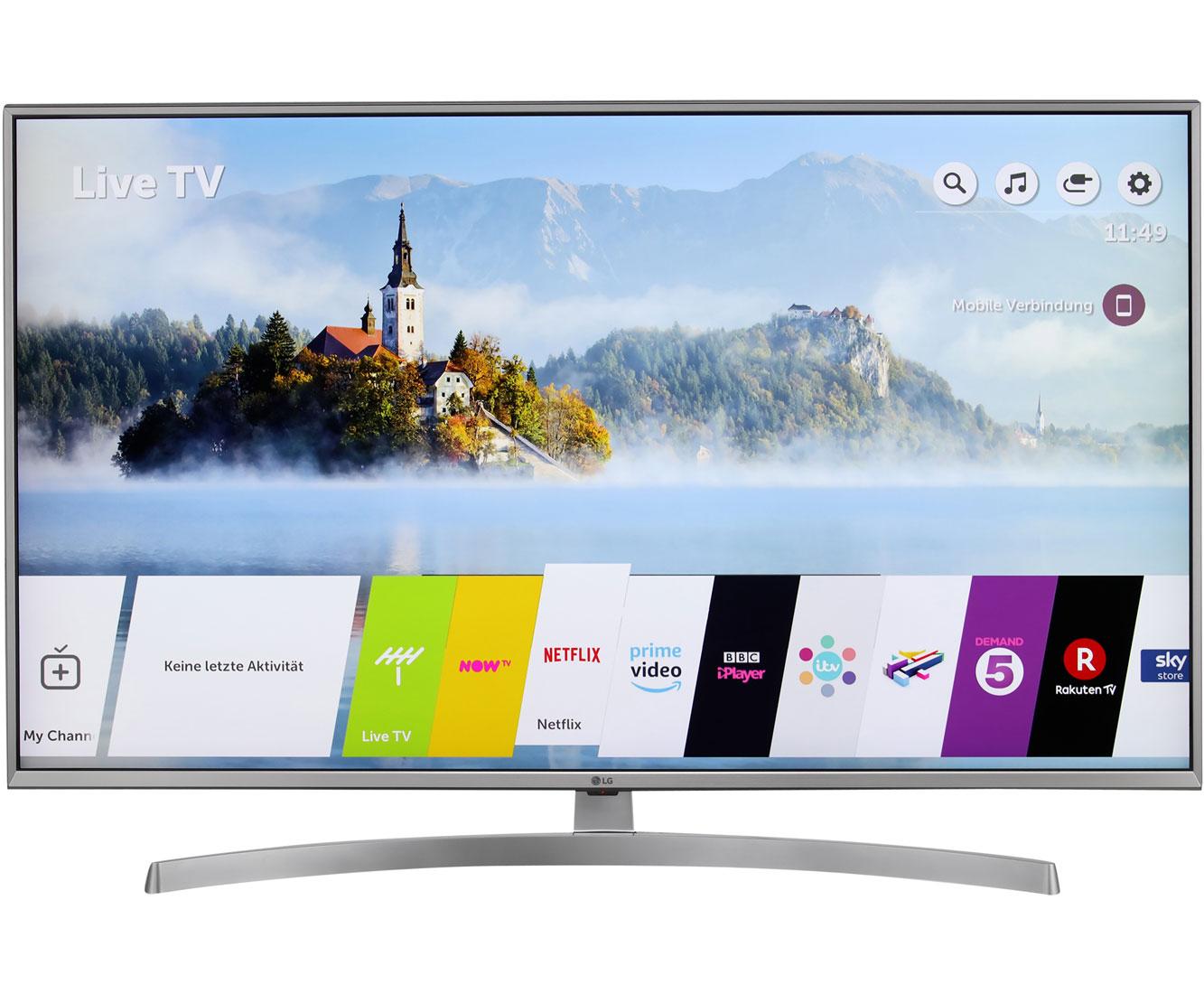 "ao.de: LG 49UK7550LLA, 4K/UHD-Smart TV, 123 cm [49""] - Silber"