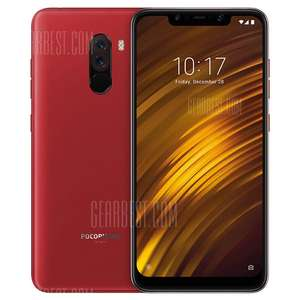 "Rotes Xiaomi Pocophone F1 6GB 128GB Global Band20, 6,18"", inkl. Zollfrei-Versand (Gearbest)"