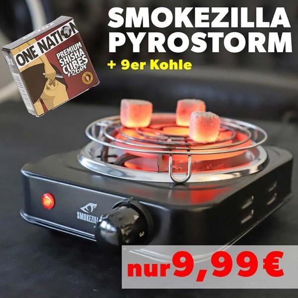 Smokezilla Pyrostorm 1000W Kohleanzünder