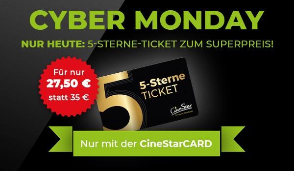 5-Sterne-Ticket- 27,5€ - Cyber Monday Superticket