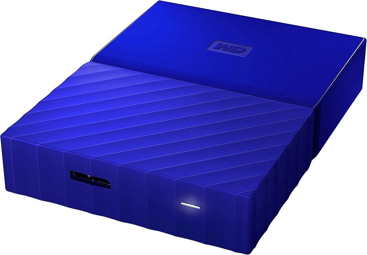 [amazon] WD MyPassport 4TB in blau WDBYFT0040BBL oder rot