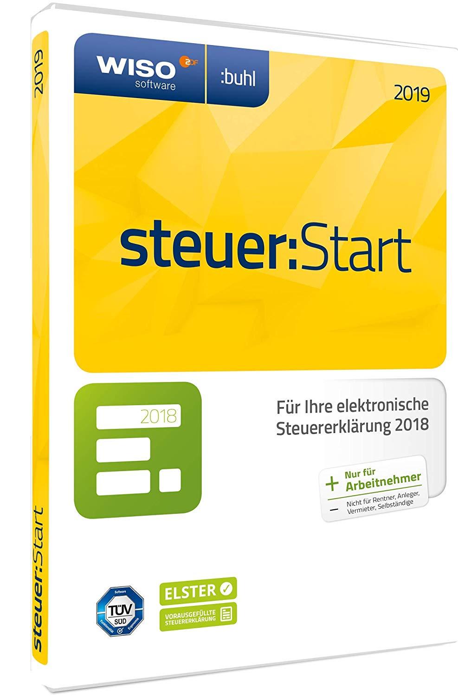 WISO steuer:Start 2019 (für Steuerjahr 2018) Download/CD [Amazon.de]