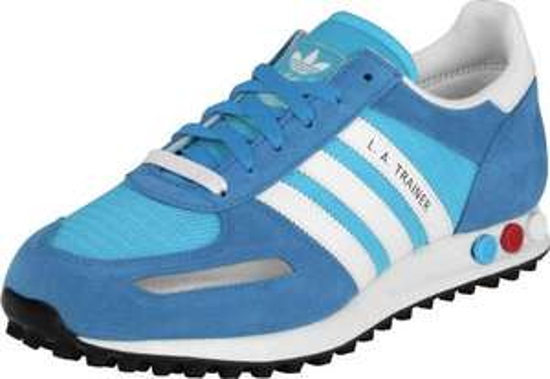 Adidas LA Trainer Herren in Blau und Rot versandkostenfrei @ JAVARI