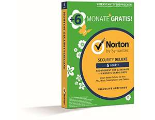 [Prime] Norton Security Deluxe 2019 5 Geräte 18 Monate (12 + 6 Monate)