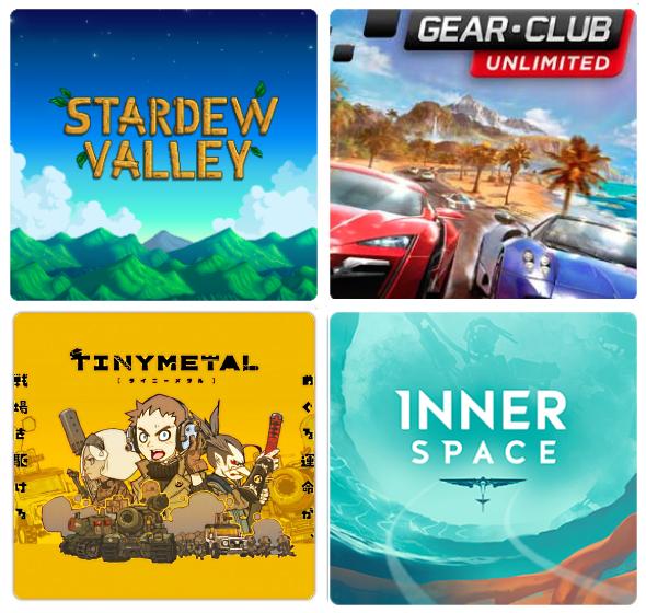 [Nintendo Switch eShop Mexiko US Sammeldeal] u.A. Stardew Valley 6,50€ / Gear.Club unlimited 13€ / TINY METAL 10€ / InnerSpace 8€