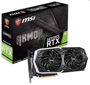 MSI GeForce RTX 2070 ARMOR 8G 8 GB Enthusiast Grafikkarte + Battlefield 5