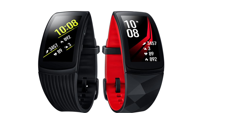 [Samsung] Samsung Gear Fit 2 Pro (Größe S oder L, schwarz, Activity Tracker)