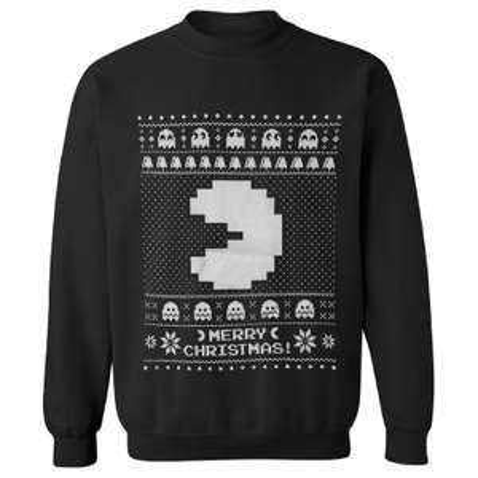 Zavvi.de - 40% Rabatt auf Geek Bekleidung - Pac-Man Weihnachts Pullover für 12,88€