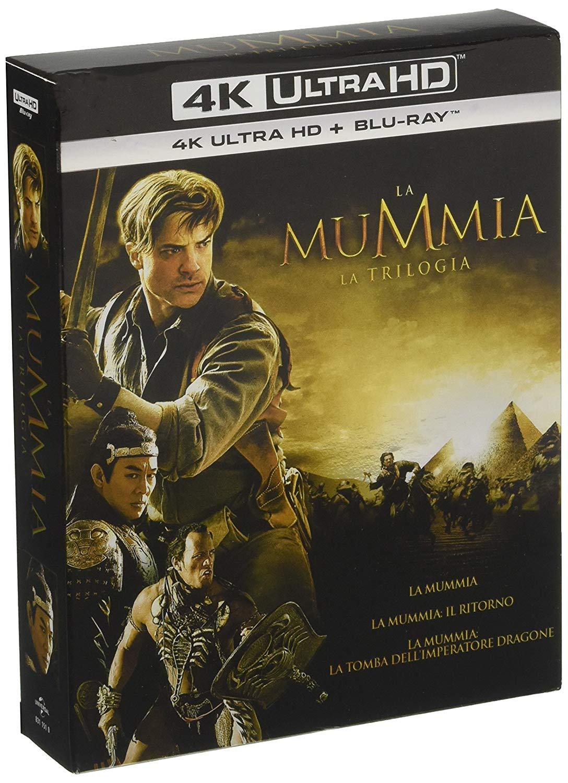 Die Mumie Trilogie 4K Blu-Ray, 34,37€ inkl. Versand [IT Import mit deutscher Tonspur]