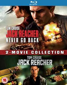 Jack Reacher &  Jack Reacher 2 (2x Blu-ray) für 5,30€ (Zoom.co.uk)