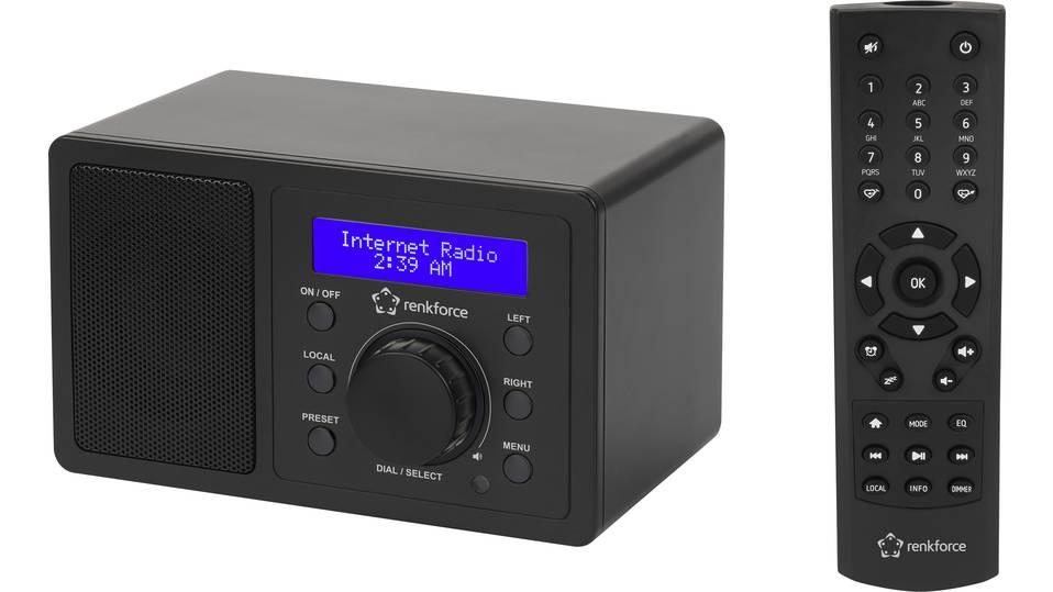 [Digitalo] Renkforce Internetradio RF-IR-MONO1