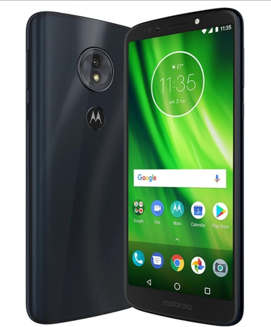 Motorola Moto G6 Play Dual Sim Smartphone 32GB 3GB RAM Deep Indigo