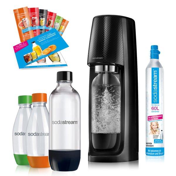 SodaStream Easy schwarz Vorteilspack