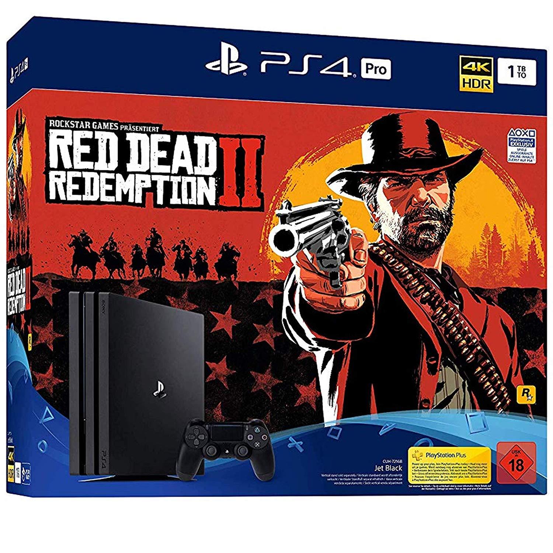[fust.ch Schweiz ] PS4 Pro 1TB + Red Dead Redemption 2 oder Fifa 19 für 290€