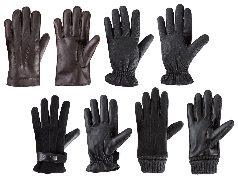 [Lidl] Leder-Handschuhe für Damen und Herren