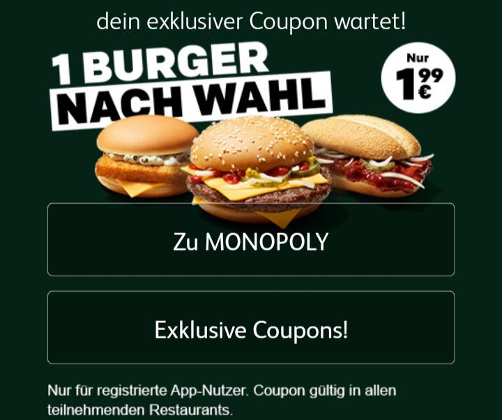 McDonalds für je 1,99€: Royal Käse, McRib oder Filet-O-Fish