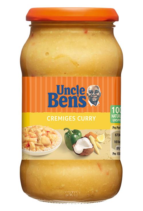 3x Uncle Bens Sauce Cremiges Curry 3x400g für zusammen 1,68 bei Kaufland