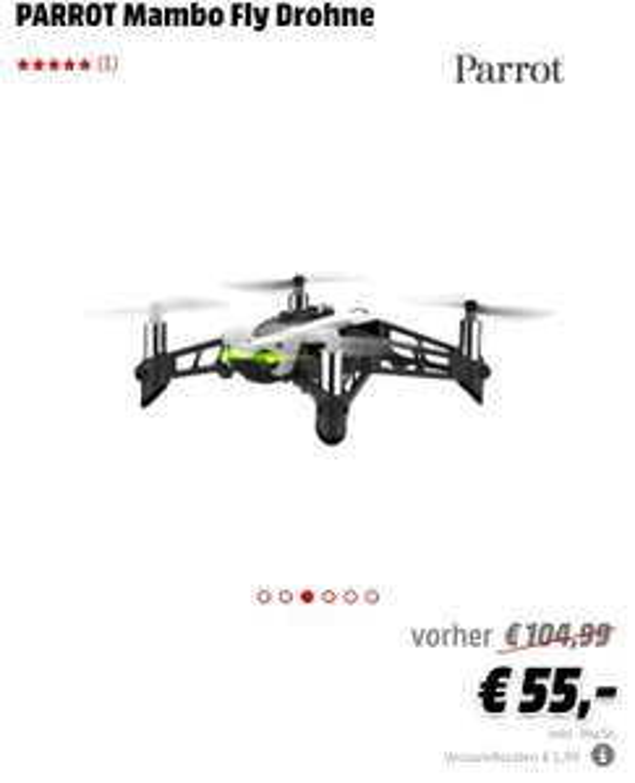Parrot Mambo Fly Spielzeugdrohne - Media Markt