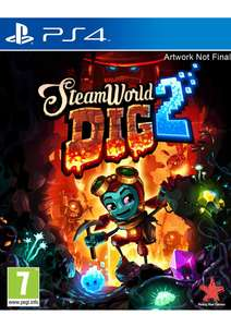 SteamWorld Dig 2 (PS4) inkl. Double-Sided Poster & Reversible Cover für 13,95€ (SimplyGames)