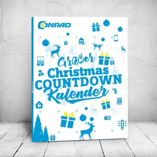 Conrad Plus-Kunden: 2 x Christmas Kalender für 19,90 Euro - 10 Euro sicheres Guthaben pro Kalender - Tipp: 3 Stück mit NL-Rabatt für 24,30 €