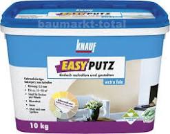knauf easyputz wei 20 kg korngr en 0 5 mm und 1 mm. Black Bedroom Furniture Sets. Home Design Ideas