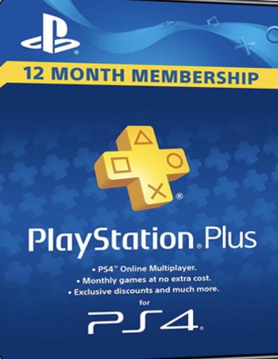 Playstation PLUS - PSN PLUS Card - 365 Tage - DE