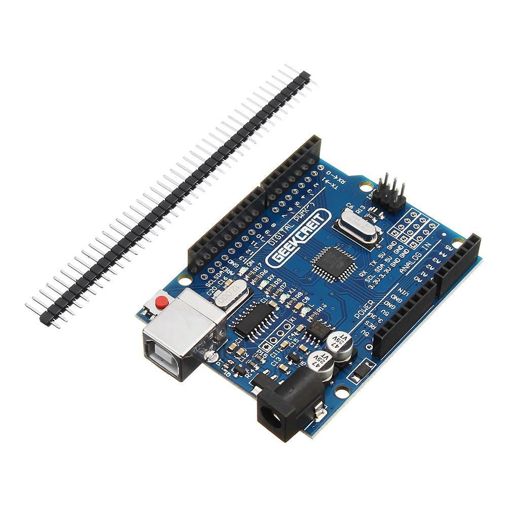 Arduino UNO R3 (von Geekcreit) mit dem ATmega328P (Treiber verfügbar) im Flashsale@Banggood