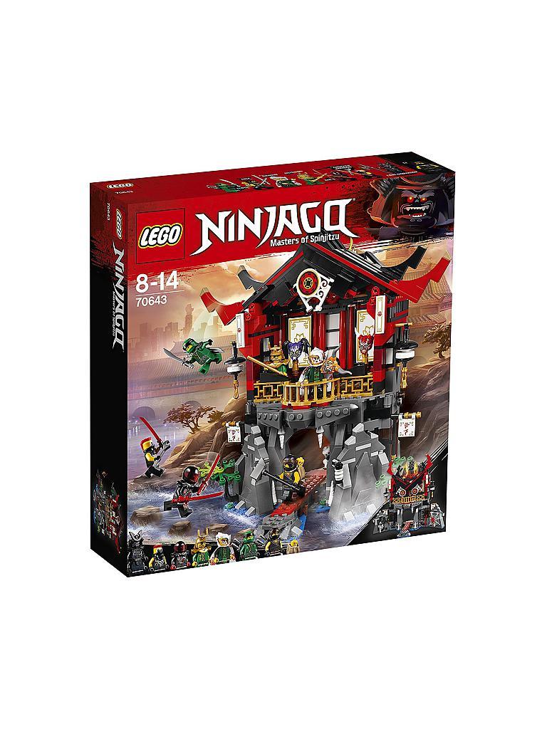 LEGO  Ninjago - Tempel der Auferstehung 70643 EOL (Füllartikel bis 60€ notwendig)