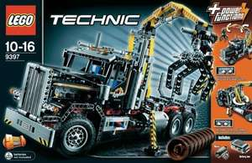 LEGO TECHNIC 9397 HOLZTRANSPORTER/Digitalo