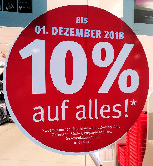 (Lokal Rossmann Lilien-Carré Wiesbaden) 10% auf alles*