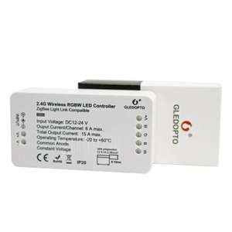 GLEDOPTO C - 007 2.4G ZigBee Wireless RGBW LED Controller