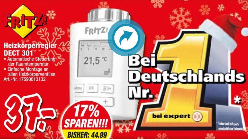 [lokal] [expert Techo-Land Deizisau] FRITZ!DECT 301 für 37 Euro