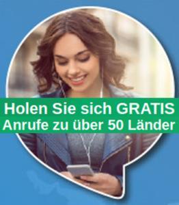 [Lycamobile][Prepaid]30 Nächte (20-8Uhr) gratis ins Ausland telefonieren (50 Länder) nach Aufladung