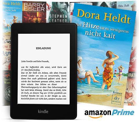 Kindle Leihbücherei - ab HEUTE gratis Bücher leihen für Prime Kunden