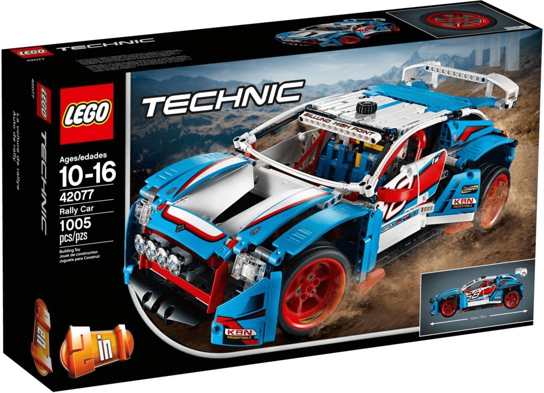 20% auf Lego z. B. LEGO Technic Rallyeauto 42077 für 60,82€ [interspar.at]