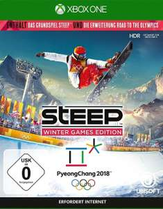 Steep: Winter Games Edition (Steep + Road to the Olympics) (Xbox One & PC) für je 8,99€ (Media Markt & Amazon Prime & GameStop)