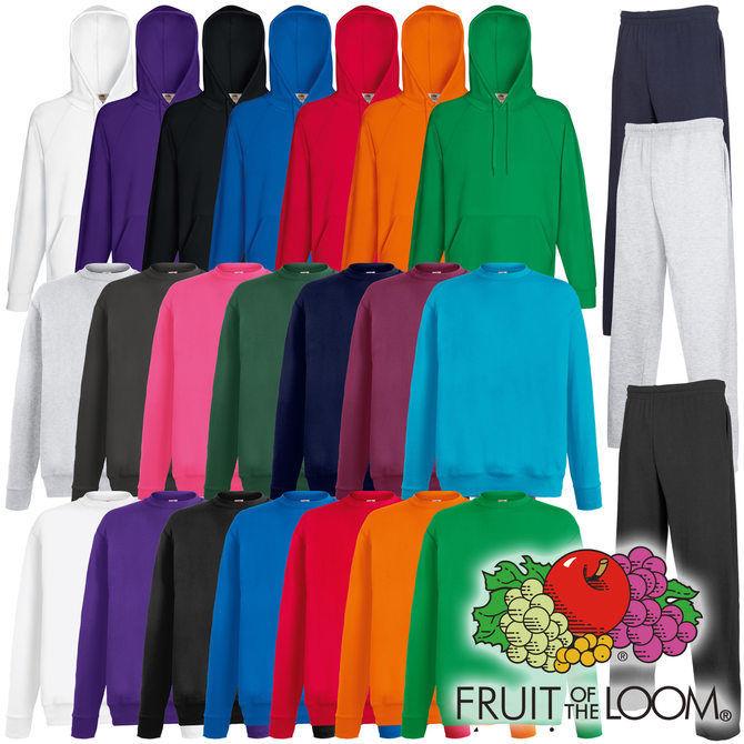 Fruit of the Loom Lightweight Hoody / Sweater / Jogginghose viele Farben 8,88€ inkl. Versand [eBay]