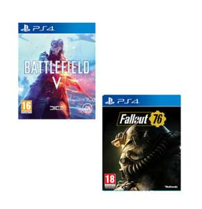 Battlefield V + Fallout 76 (PS4 & Xbox One) für 70,75€ (Game UK)