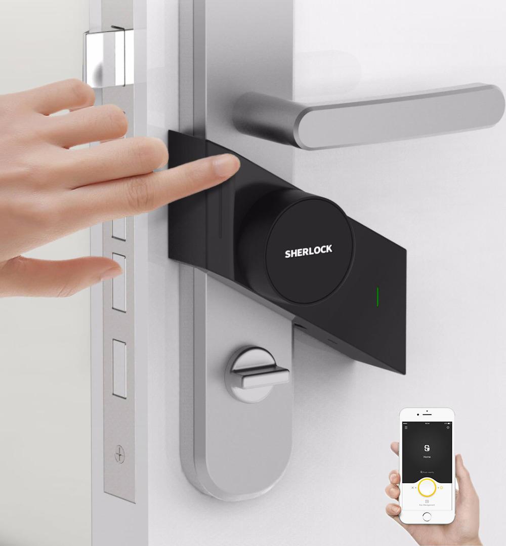 Xiaomi Mijia Sherlock Smart Home Türschloss / keine Montage notwendig! [Banggood Priority]