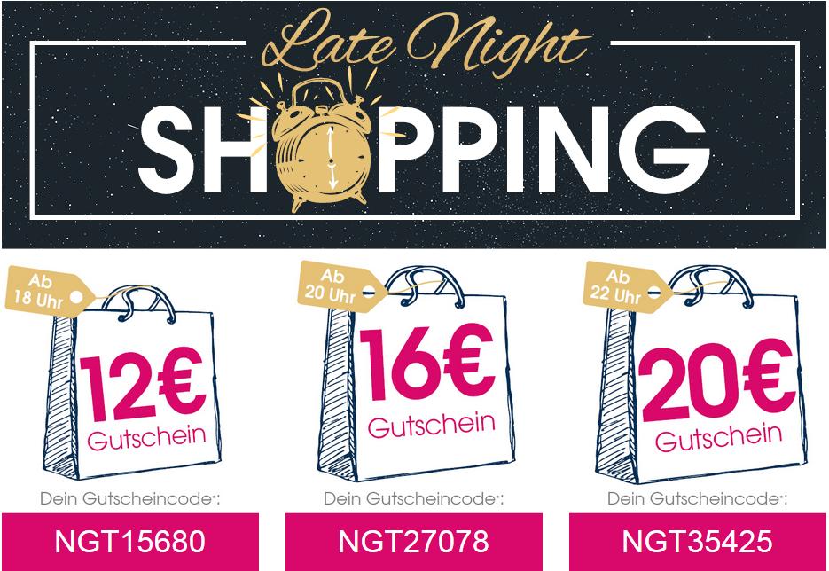 Babymarkt Late Night Shopping ab 18Uhr = 12€ | ab 20Uhr = 16€ | ab 22Uhr = 20€ | 120€ MBW