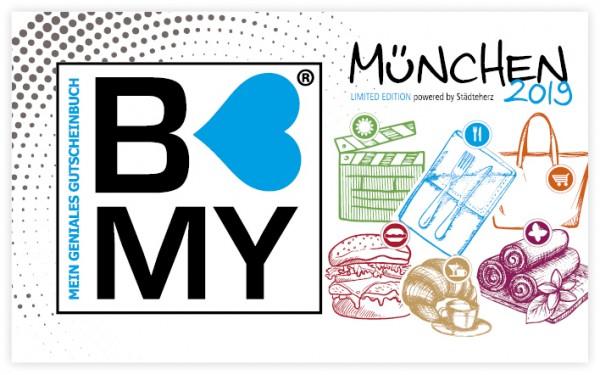[München] 10€ Gutschein - Städteherz Gutscheinbuch B-MY München 29,90€ statt 39,90 €