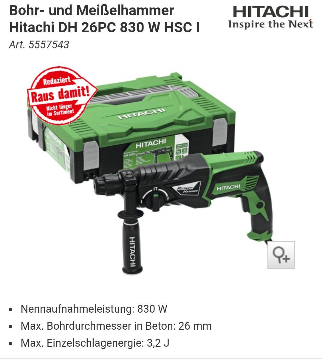 [Hornbach] Hitachi - Raus damit Abverkauf