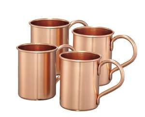 4er-Set Moscow Mule-Becher