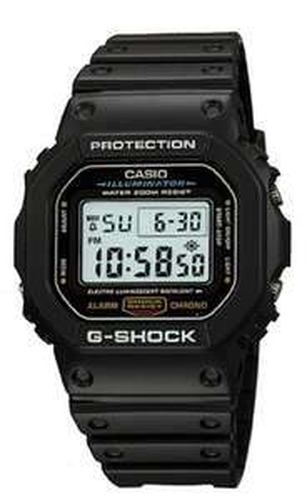 Amazon US: Casio G-Shock DW-5600E-1VER
