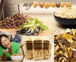 Genuss-Highlight und Knabberei für nebenbei – frisches süßes Popcorn in den leckersten Geschmacksrichtungen von mypopcorn.eu für 9 Euro statt 20 Euro