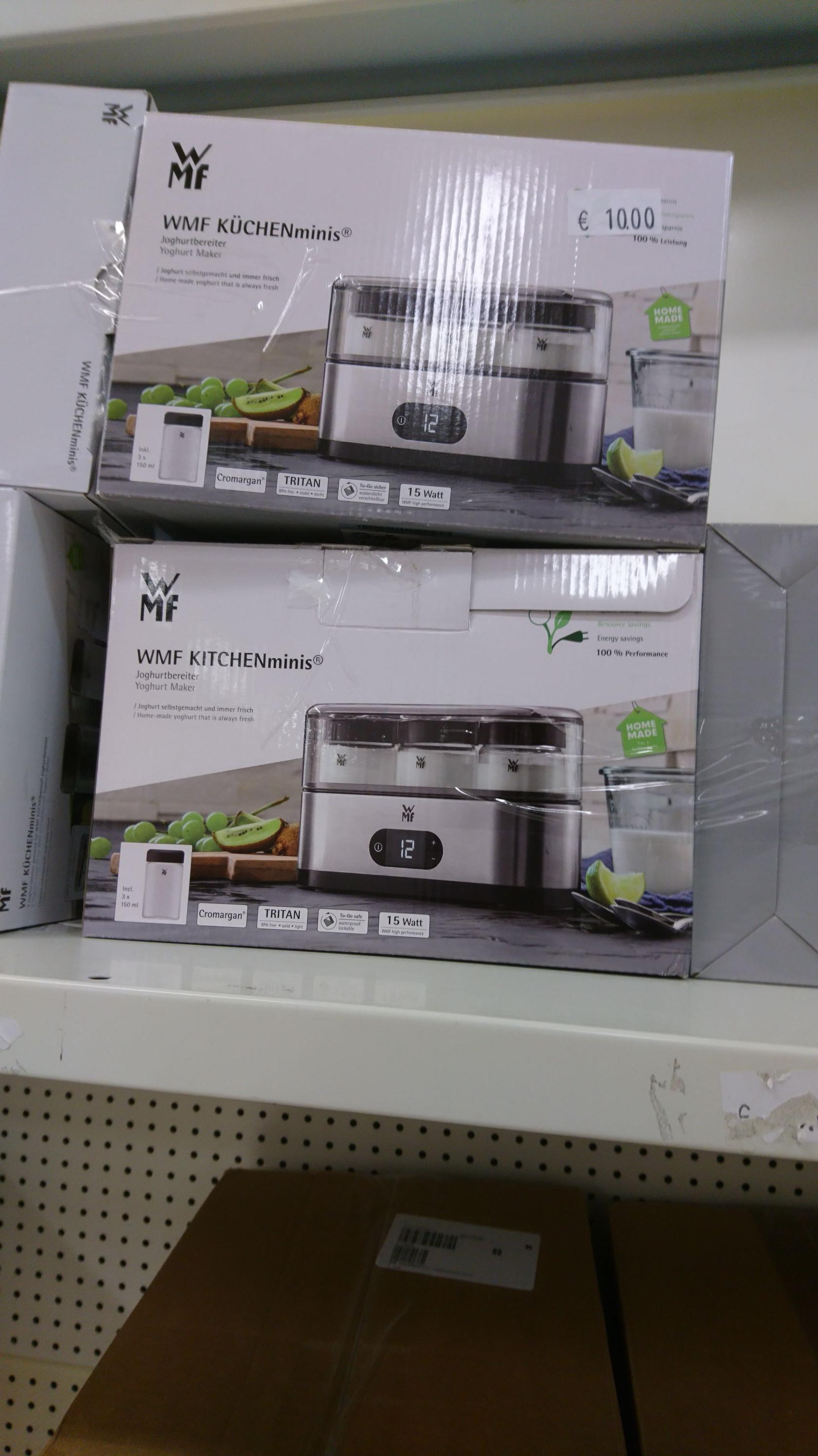 WMF Küchenminis Joghurtbereiter - QVC Lagerverkauf Zwickau
