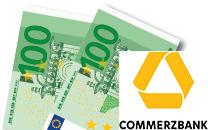 Kostenloses Commerzbank Girokonto mit 100 € Startprämie + 100 € KWK (keine Kontoführungsgebühren)